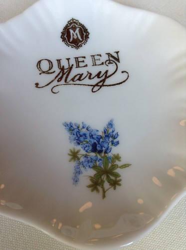 Queen Mary tea plate