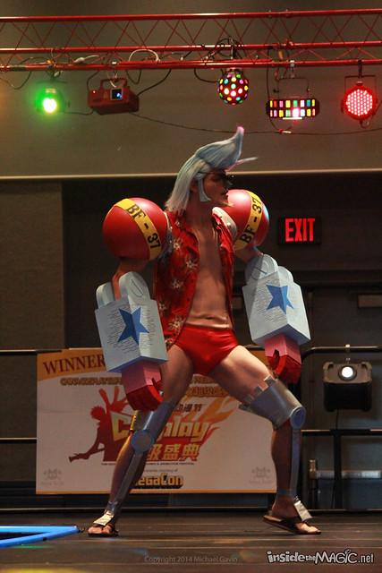MegaCon 2014 Anime Cosplay Costume Contest