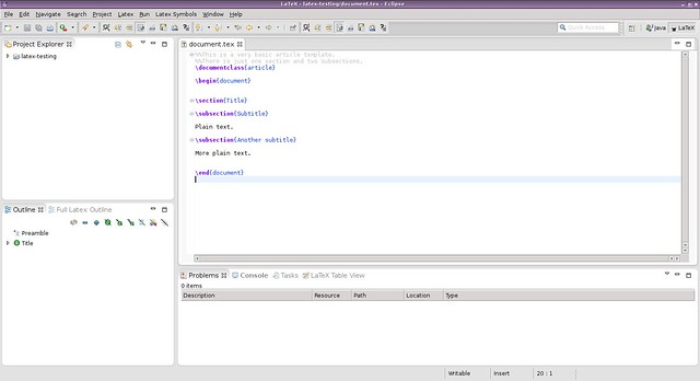 What Is Good LaTeX Editor Software On Linux