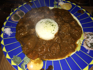 Curry de Buey estilo sudafricano (garam marsala)