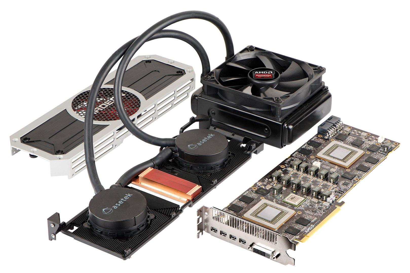 AMD R9 295X2官方图片介绍