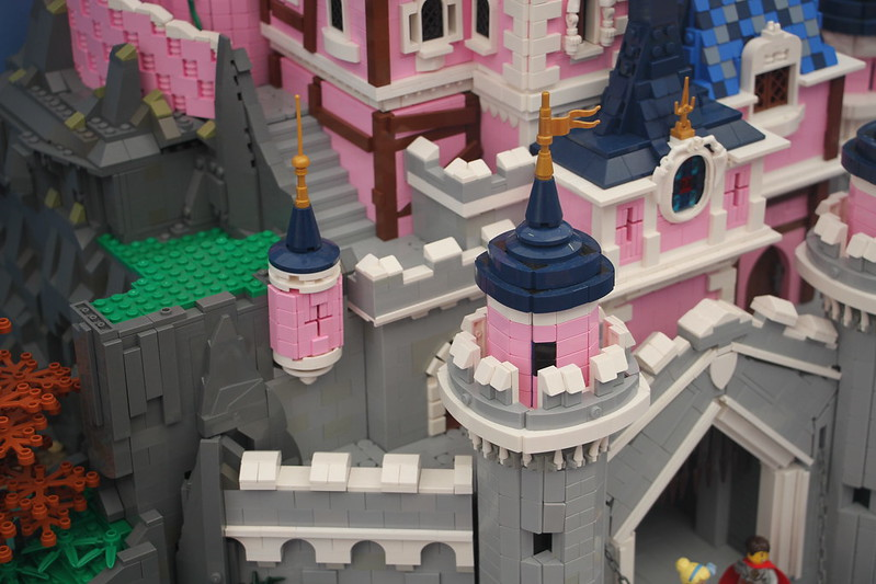 Once Upon a time... The Sleeping Beauty Castle (Details)