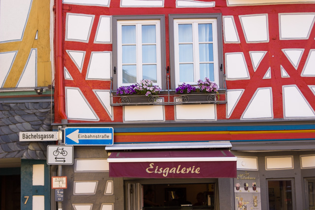 architecture in Bad Camberg Germany