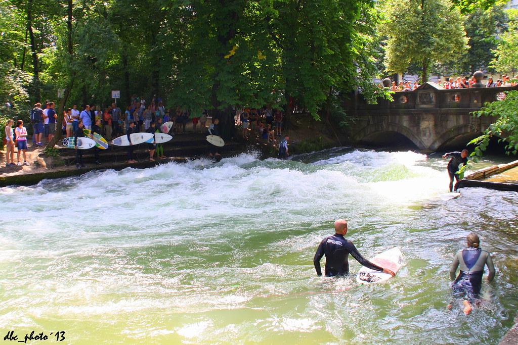 Es posible hacer surf en Munich