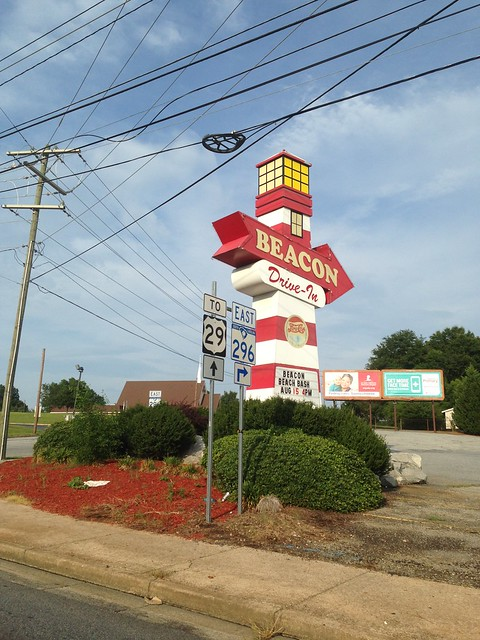 The Beacon Drive-In, Spartanburg SC