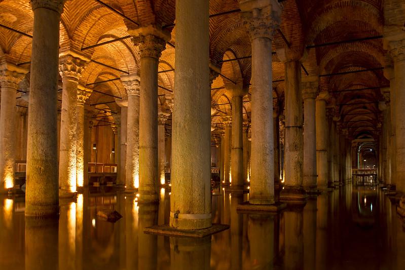 Yerebatan Sarnici - Basilica Cistern in Istanbul