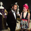 Nick Verreos & Jessie Pridemore at the Outstanding Art of Television Costume Design Exhibition - IMG_2612 by RedCarpetReport