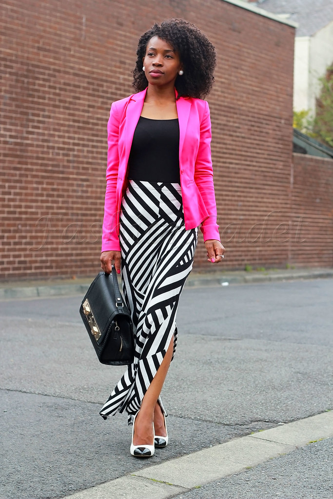 double-side-split-skirt-with-hot-pink-blazer