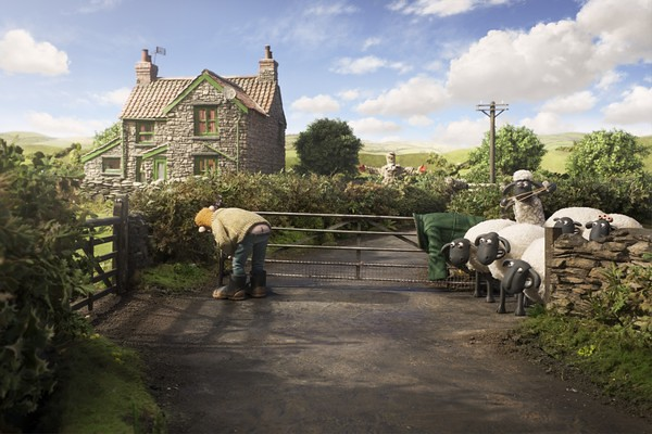 Little Shaun causes silly chaos in SHAUN THE SHEEP.