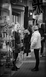 Image of Covent Garden Market. ebenette london streetphotography candid leica monochrom m9m summilux50mmasph coventgarden