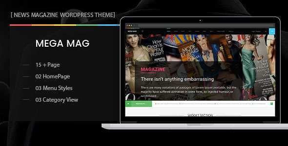MegaMag WordPress Theme free download
