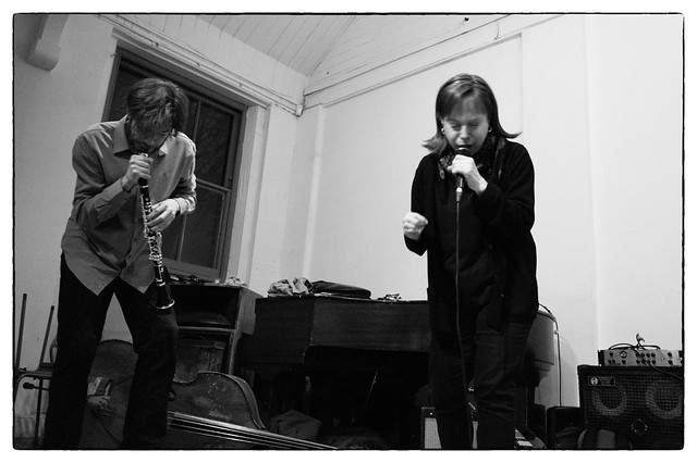 Alex Ward/Kay Grant/John Russell, Voices In The Night @ Iklectik Art Lab, London, 3rd March 2017