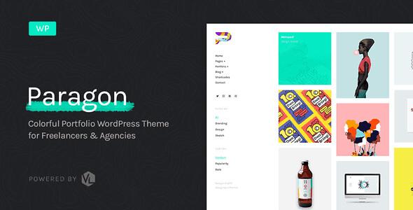 Paragon WordPress Theme free download