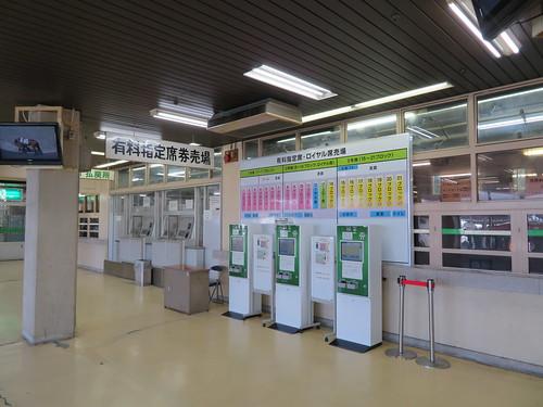 佐賀競馬場の有料指定席券売り場
