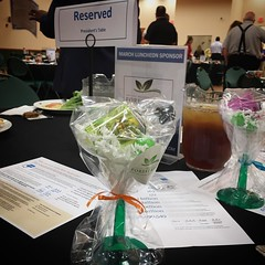 Chamber luncheon ... wait tequila sample!!