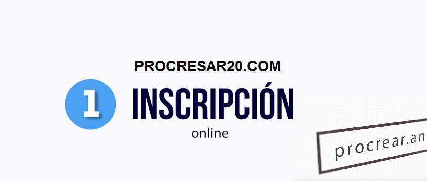 inscripción al Procrear 2017
