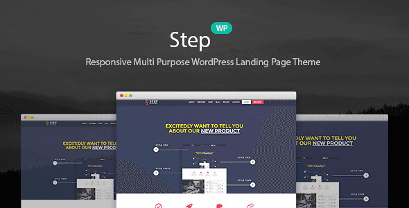 Step WordPress Theme free download