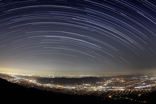 Top of Wildwood Startrails