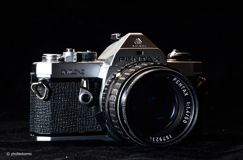 pentax mx & takumar 50 1.4 by phollectormo