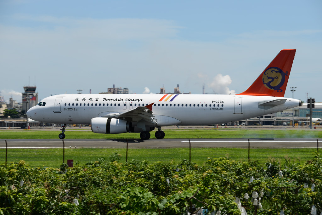 B-22316 TransAsia Airways A320