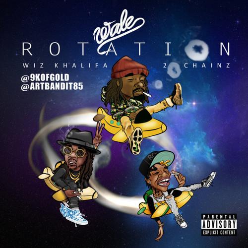 "New Music: Wale Feat. Wiz Khalifa & 2 Chainz ""Rotation"""