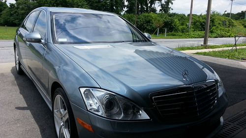 Mercedes Benz S550 DETAILED