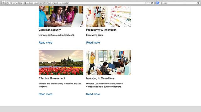 Found - Microsoft Canada site