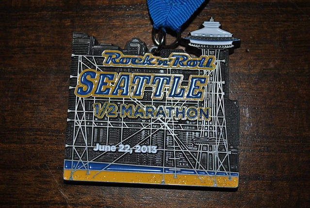 Rock and Roll 2013 Seattle Medal