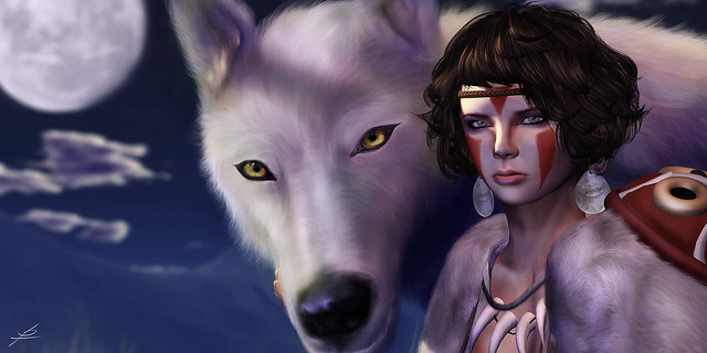 Princess Mononoke Movie Inspired