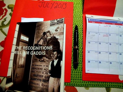 July 2013 diary