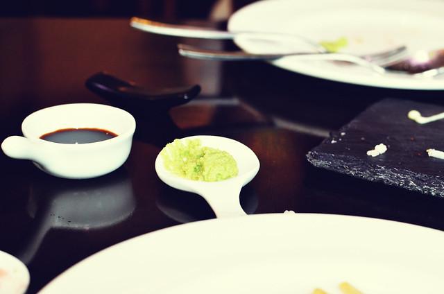 [085] - Wasabi Sauce & Soy Sauce @AoiMumbai