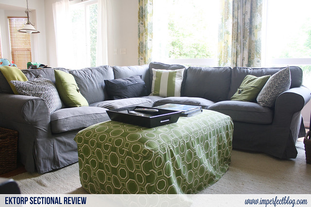 Review of Ektorp Sectional in Svanby Gray