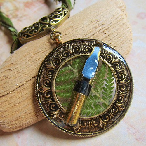 The Forest Scribe Necklace