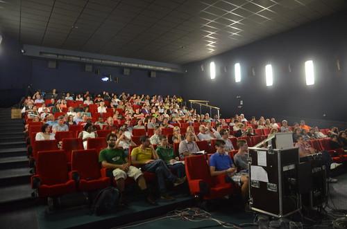 Kinosaal beim EFG Gottesdienst