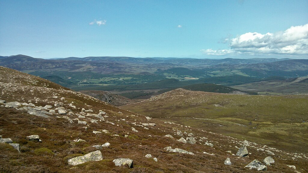 Deeside from Point 830m