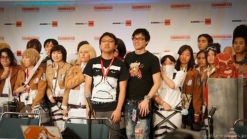Attack on Titan Anime Expo