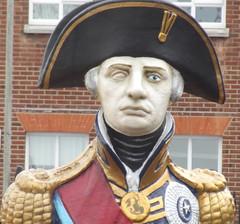 Portsmouth Historic Dockyard - Nelson figurehead