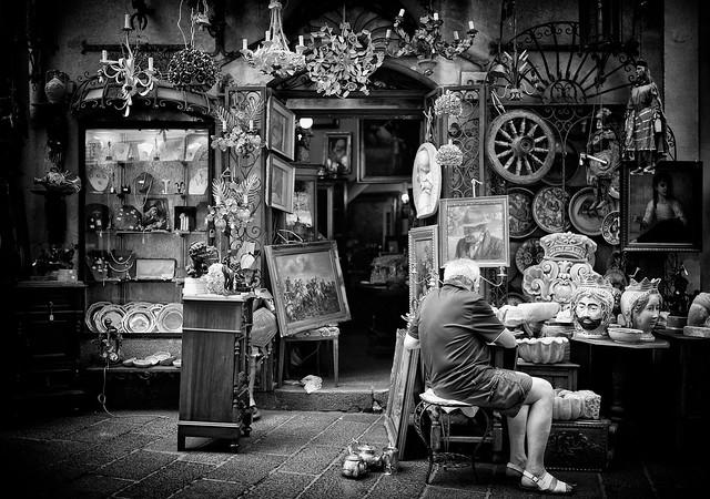 Antique Shop - Taormina 2013
