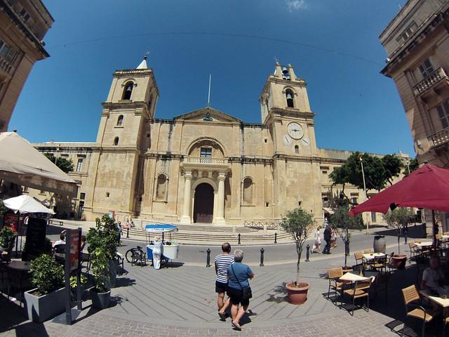 Qué ver en La Valeta: Catedral de Saint John's en La Valeta de Malta