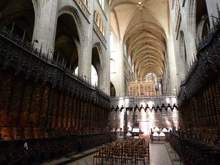 Catedral de Auch (Gers, Francia)