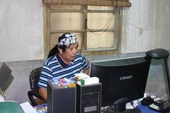 20100907· 拍攝於彰化鹿港 綠色主張工作室。張樂群攝。