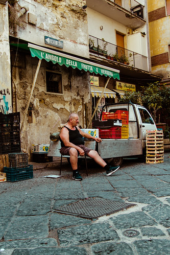 Naples markets #5 by Davide Restivo