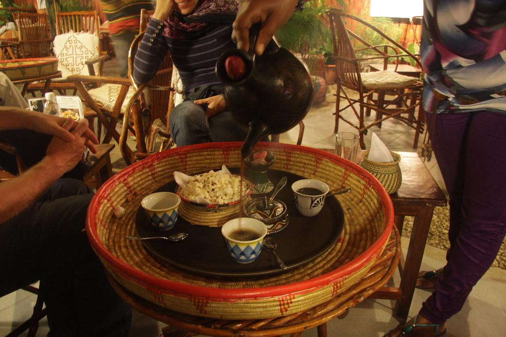 Ethiopian coffee in Zanzibar