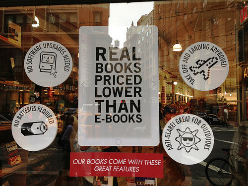 Real Books Priced Lower  Than EBooks