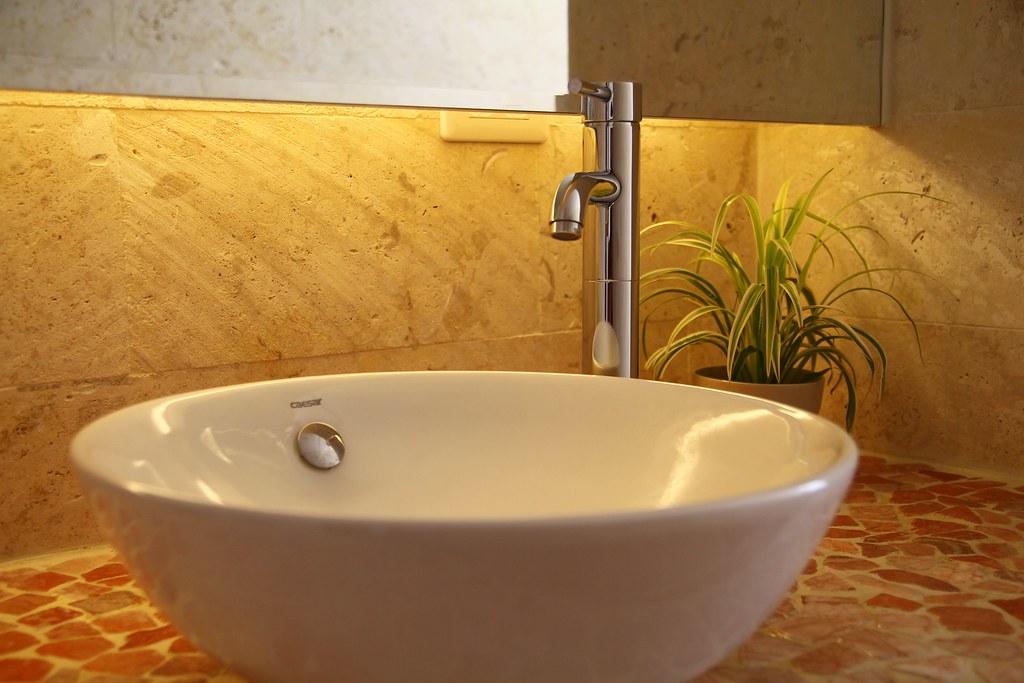 二樓浪漫海景雙人房洗手台IMG_5950