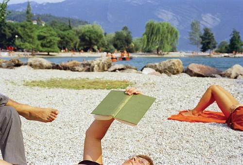Martin Parr.  Italy. Lake Garda. Riva del Garda.  1999.  from Life's a Beach -- Aperture.