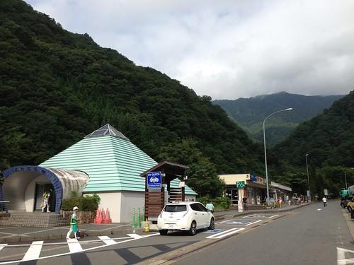 谷川岳PA(下り) 急速充電設備