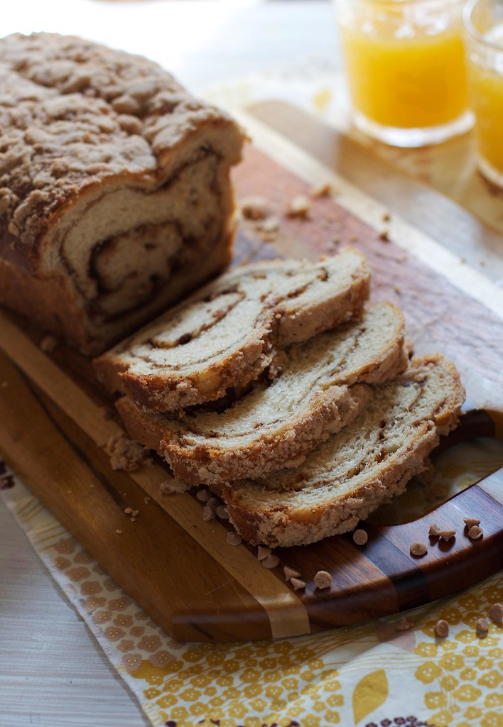 Triple Cinnamon Swirl Bread via The Baker Chick