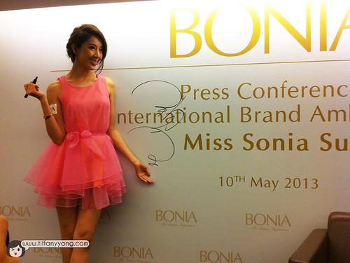 bonia press conference
