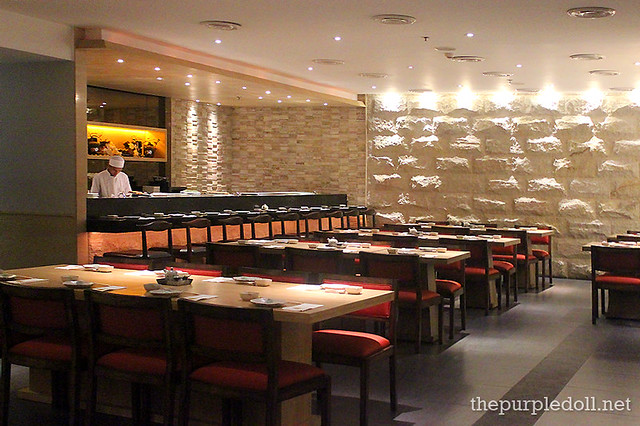 WAFU Dining Area and Sushi Bar